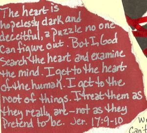 Jeremiah 17:9-10