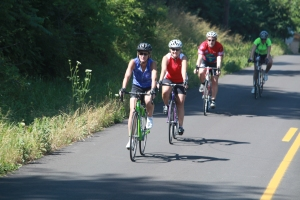 4 cyclists